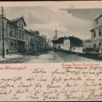 076.Duchcovská ul. od radnice 1902
