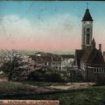 126.evangelický kos.l ze zadu 1909