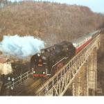 561.Mlýny most s vlakem 7.12.2002