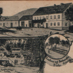 030.Křižanov kolem roku 1920