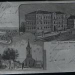 059.Tržní nám. a školy (stříbrný) 1907