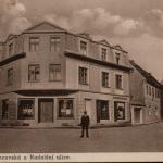 084.Duchcovská ul. a Radniční 1932