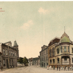085.Radnice + naproti 1911