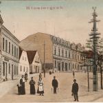 099.Karlovo n.levá +2 domy 1908