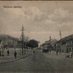 100. Karlovo nám. bez kina 1919