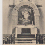 134a. evangelický kos. oltář