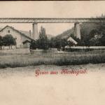 144.Mlýny železniční most do r. 1905