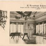 167.Nové Verneřice sokolovna interier 1919