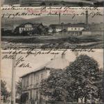 169.Nové Verneřice dělený(3) 1912 DA (W)