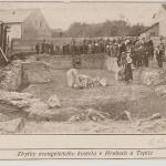 zbořeniště z dobového tisku r.1914